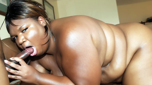 Mouth gangbanged Ebony BBW Luscious